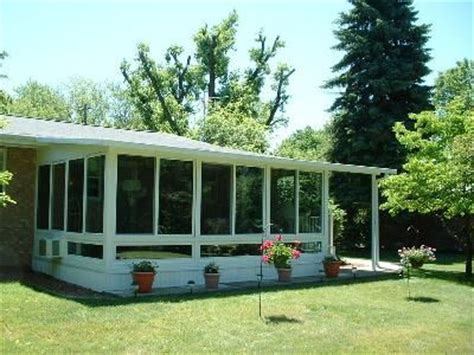 sunrooms and more minimalist simple patio sunroom screen porch favorite places