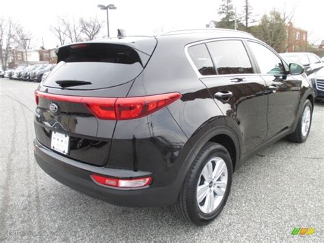 kia sportage black 2017 black cherry kia sportage lx 111328253 photo 4