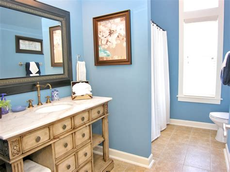 Bathroom Cabinet Colors by Blue Bathroom Ideas Gratifying You Who Blue Color