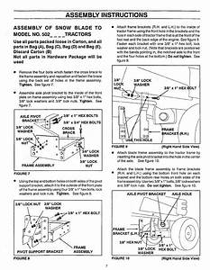 Craftsman 486244281 User Manual 48 Snow Blade Manuals And