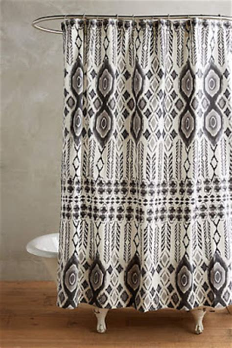 bohemian shower curtain anthropologie favorites bohemian shower curtains