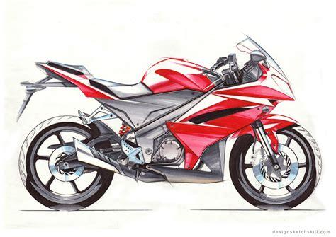 Motorcycle Sketch Tutorial By Yang Design At Coroflot.com