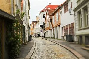 Streets Of Bergen Norway Entouriste