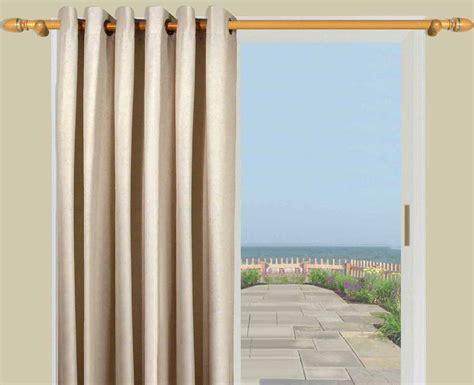 homespun thermal grommet curtain panel