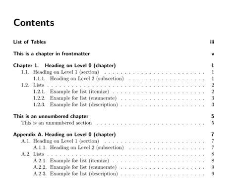 header footer add chapterappendix prefix  table