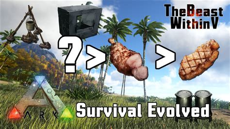 ark survival evolved  food youtube