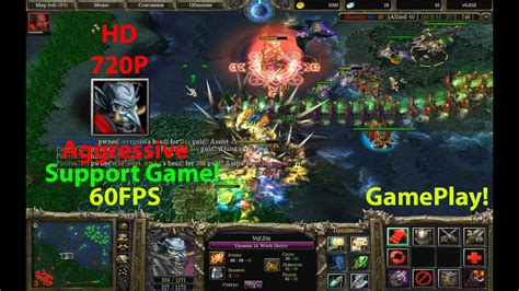 dota witch doctor 6 83 gameplay 5000 6000 points aggressive support youtube