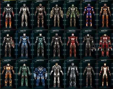 Iron Man Armor Mk 22-42 By Shepard137 On Deviantart