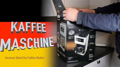Braun Coffee Maker Unboxing Setup And First Coffee Drip Coffee Maker Walmart Art In Dubai Temperature Gloria Jeans Woolworths Pack Subscription Packaging Fullerton