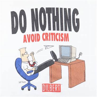 Nothing Dilbert Criticism Avoid 1990s
