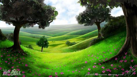 peaceful meadow  jess  dragoon  newgrounds