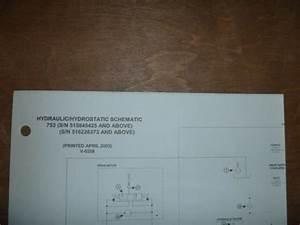 Bobcat 753 Skid Steer Hydraulic Hydrostatic Schematic