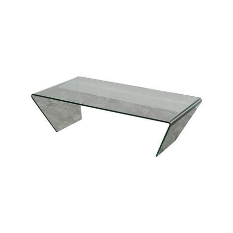 90 off boconcept boconcept glass coffee table tables