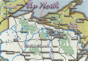 Northern Wisconsin Map