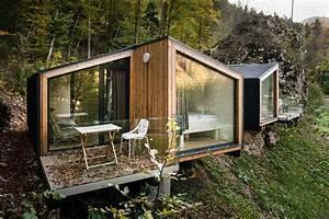 Une Maison Prfabrique Cologique En Bois La Mini