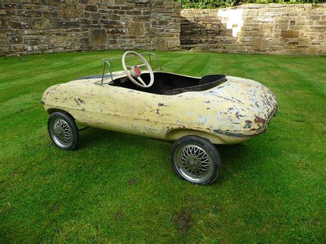 Rare 1960s Tri-ang E-type Jaguar Pedal Car Barn Find