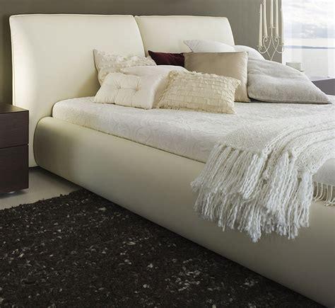 Cushion Bed Frame  Beige Bed Frame  Modern Digs