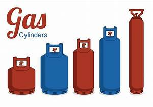 Free Vector Gas Cylinders - Download Free Vector Art