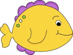Yellow Fish Clip Art
