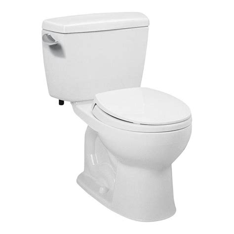Toto Drake 2piece 16 Gpf Elongated Toilet In Cotton (no