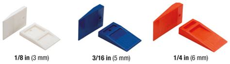 Tavy Two Sided Tile Spacers by Tavy Tools