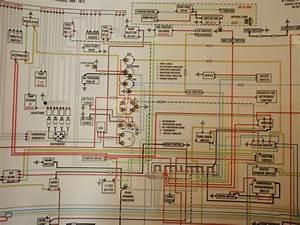 1971 Volvo 1800e Restoration  Color Wiring Diagram