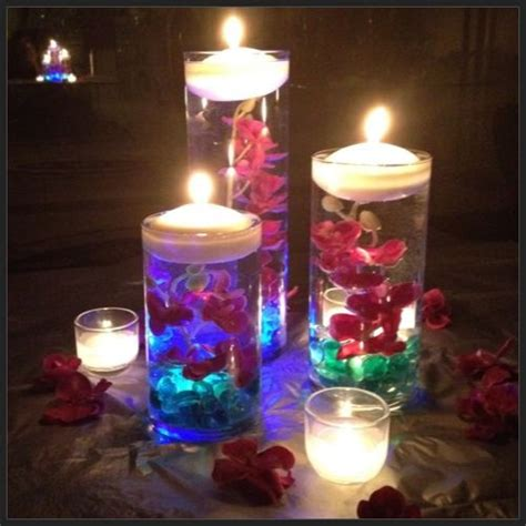 diy submerged centerpiece pt 3 in 2019 a glowing light