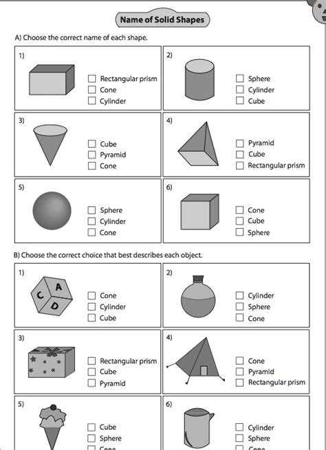 2d and 3d shapes for foundation and ks1 learning