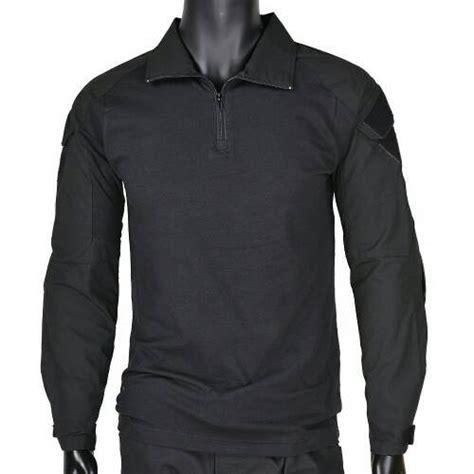 jual combat shirt black baju kaos tactical kaos bdu di