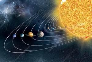 Solar, System, Artwork, -, Stock, Image, -, C010, 2756