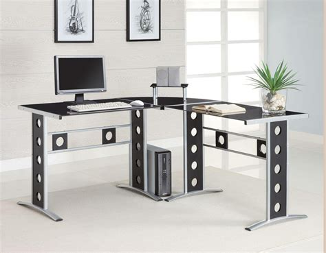 Modern Computer Desk L Shaped by Contemporary L Shaped Desk Co228 Computer Desks
