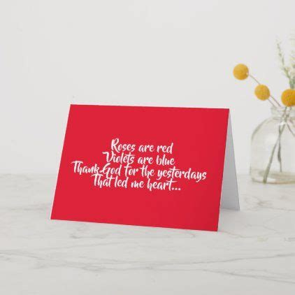 Romantic Roses are red card | Husband card, Cards ...