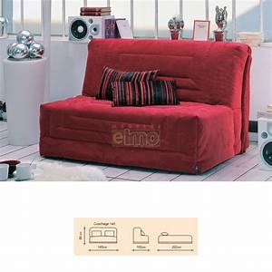 banquette convertible bz couchage 140 cm bang With banquettes convertibles