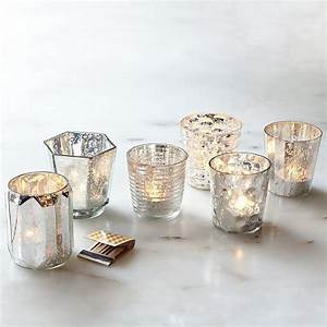 mercury votive holders eclectic candleholders by With kitchen colors with white cabinets with mercury glass votive candle holder