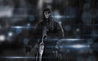 Ghost Call Cod Ghosts Wallpapers Duty Resolution