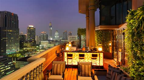 Bangkok Rooftop Bar (the Speakeasy)  Hotel Muse Bangkok
