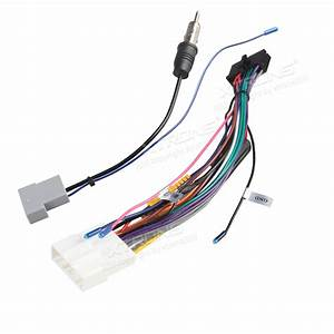 Iso Wiring Harness For The Installation Of Xtrons Tb706pl