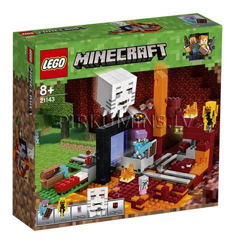 21143 LEGO® Minecraft Nether portāls, no 8 gadiem NEW 2018 ...