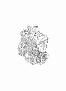 2012 Hyundai Sonata Engine Assembly - Sub