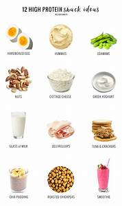 A Nutritionist Shares  The 12 Best High Protein Snacks