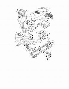 917 288600 Craftsman Garden Tractor 26 Hp 54 Inch Mower