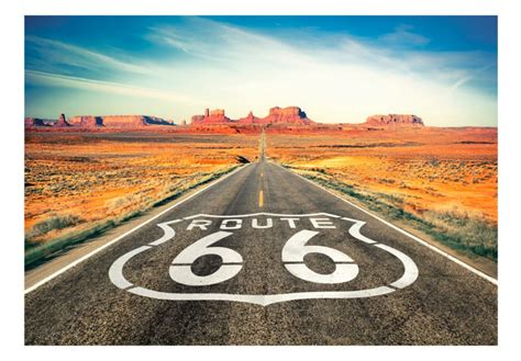 Pictures Of Route 66 Photo Wallpaper Route 66 Desert Landscapes Wall Murals