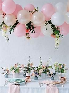 team bride styled shoot von festtagsfotografien und With wedding shower balloons