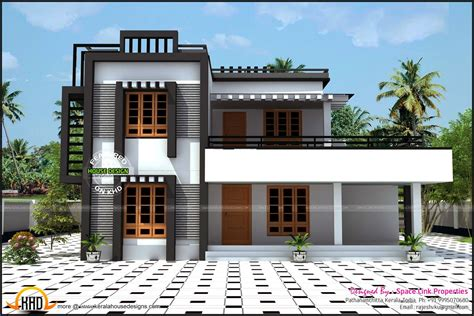 Home Design Box Type by Box Type House Kerala Home Design And Floor Plans