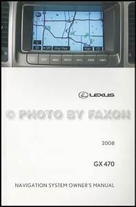 2008 Lexus Gx 470 Wiring Diagram Manual Original