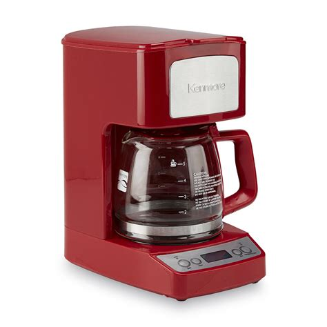 Kenmore 5 Cup Red Coffee Maker Coffee Espresso Makers Small Kitchen   eBay
