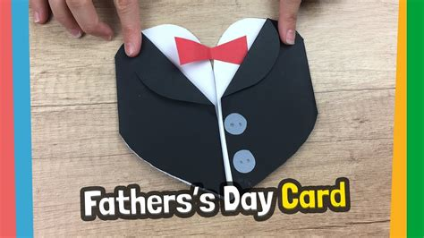 tuxedo fathers day gift card simple