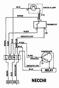 Refrigeration  Refrigeration Wiring Schematic