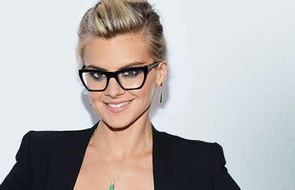coiffure  lunettes le style tendance