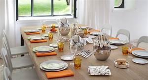 Set De Table Argenté : design mood by christofle ~ Teatrodelosmanantiales.com Idées de Décoration